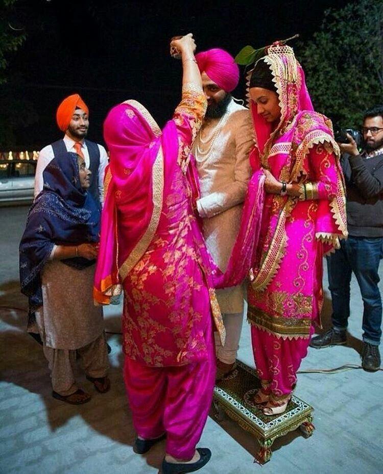 Pin de ManDy Ca en Punjabi couple | Pinterest