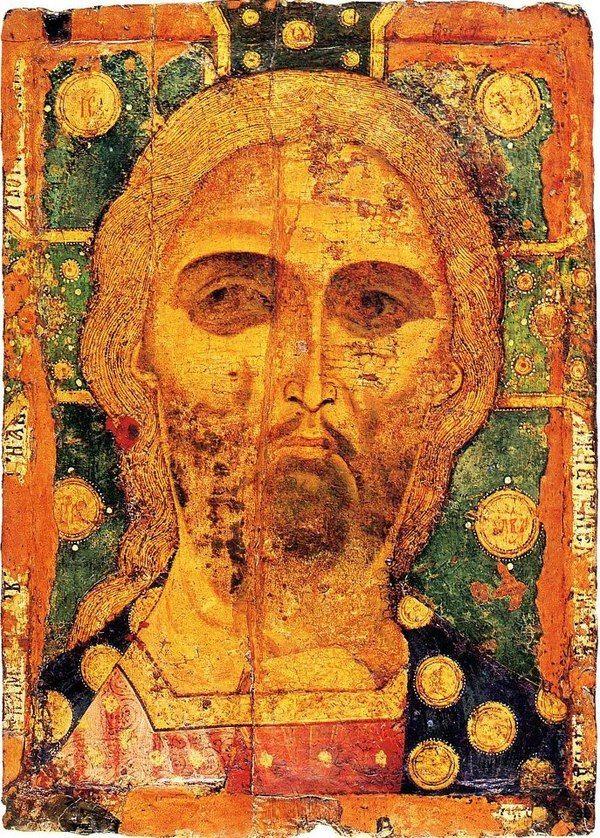,,Спас Златые Власы,, около 1200го года