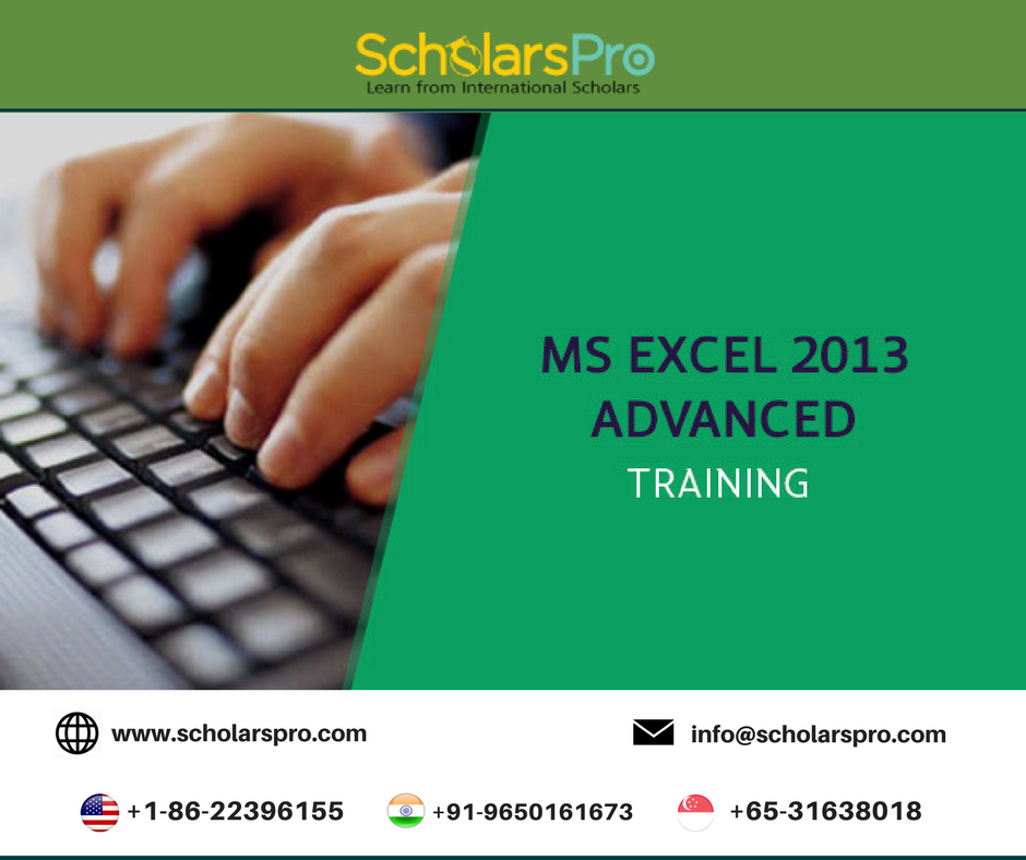 Our Advanced Microsoft Excel Training Course Offers Cutting Edge