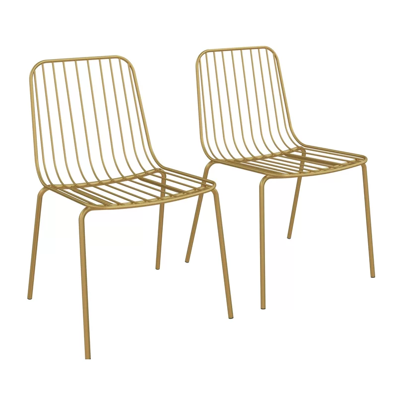 Bourquin Wire Dining Chair Wire Dining Chairs Dining Chairs