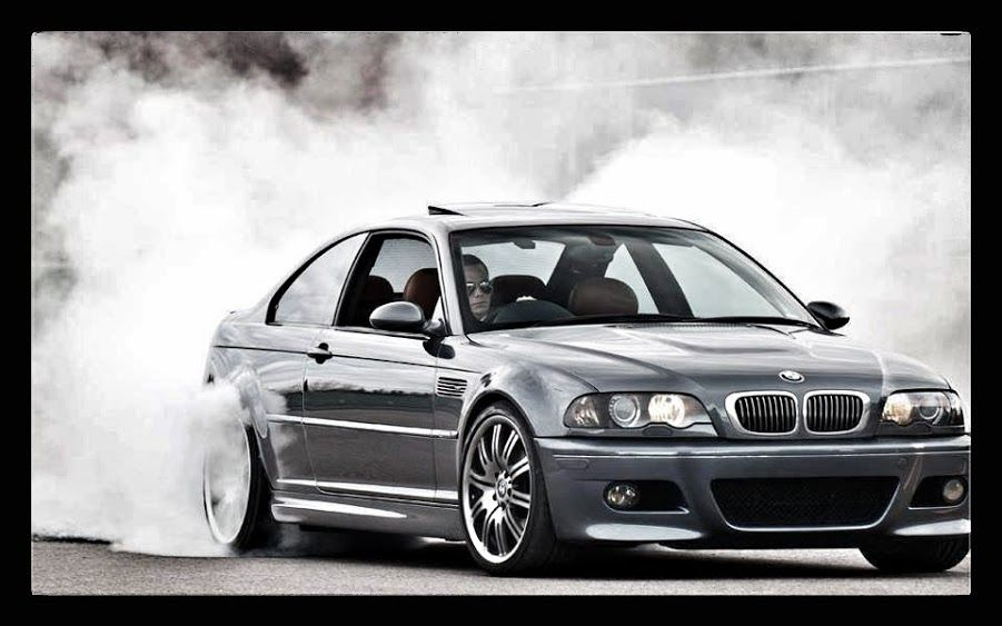 BMW E46 M3 Grey Smoke Show