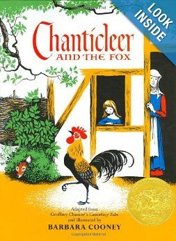 Chanticleer and the Fox: Geoffrey Chaucer, Barbara Cooney: 9780690185614: Amazon.com: Books
