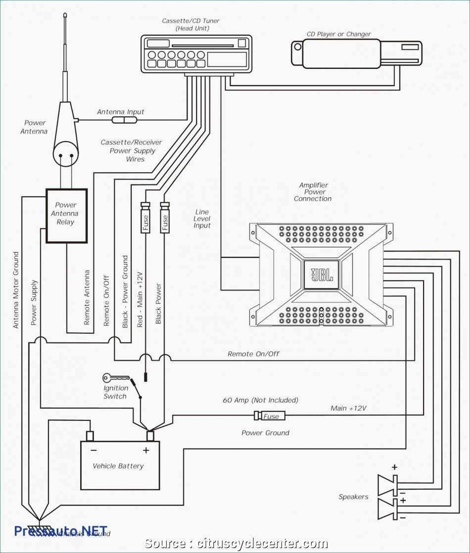 Amplifier Wiring Diagram 1