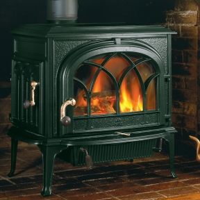 Wood Pellet Stove Fireplace Installation Gietijzer
