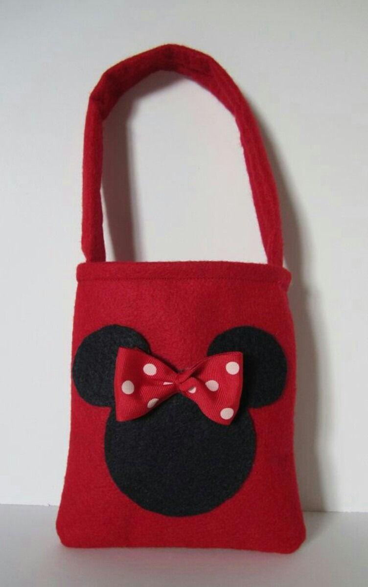 1242d0ba4 Bolsitas Dulceros De Tela Infantiles Peppa Pig Mickey Mouse - $ 20.00 en  MercadoLibre