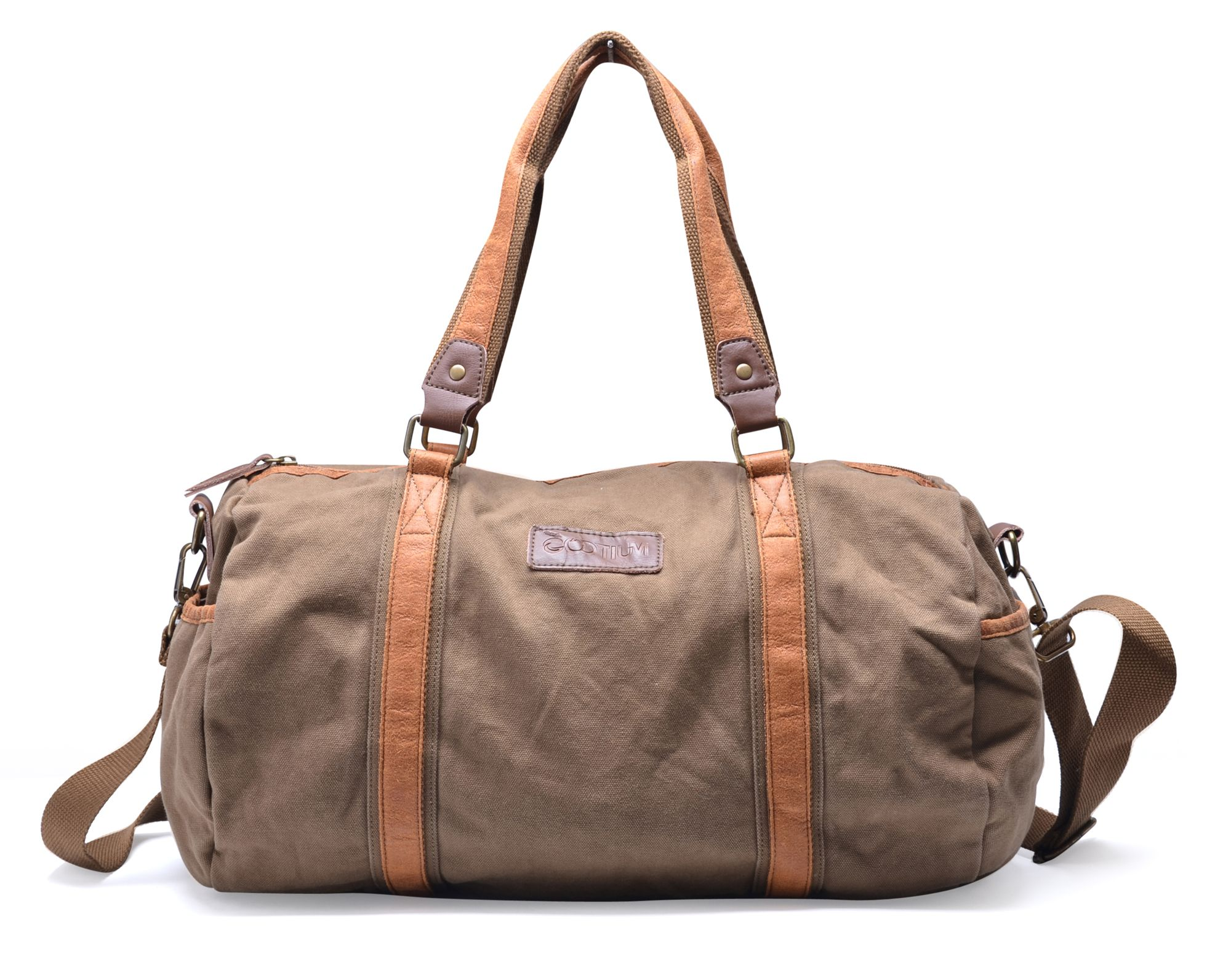 Leather Canvas Sports Bags