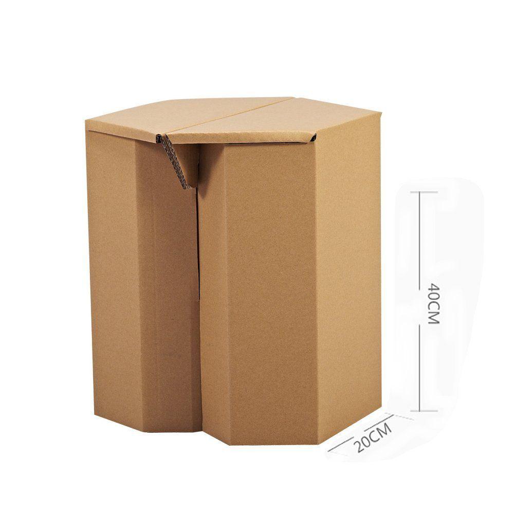 diy cardboard furniture. Paper Maker DIY Cardboard Hexagon Chair Children\u0027s Furniture (01Hexagon, Brown) Diy E