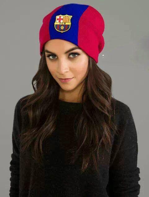 7d333ad06 اجمل مشجعات برشلونة الاسباني | FAVARITE thanig♥♥♥ | Hats, Winter ...