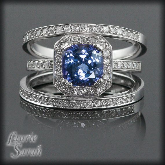 best 25 tanzanite engagement ring ideas on pinterest tanzanite rings coloured engagement. Black Bedroom Furniture Sets. Home Design Ideas