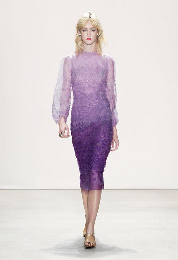 SS16 Catwalk - Jenny Packham | vestidos cortos gala | Pinterest ...