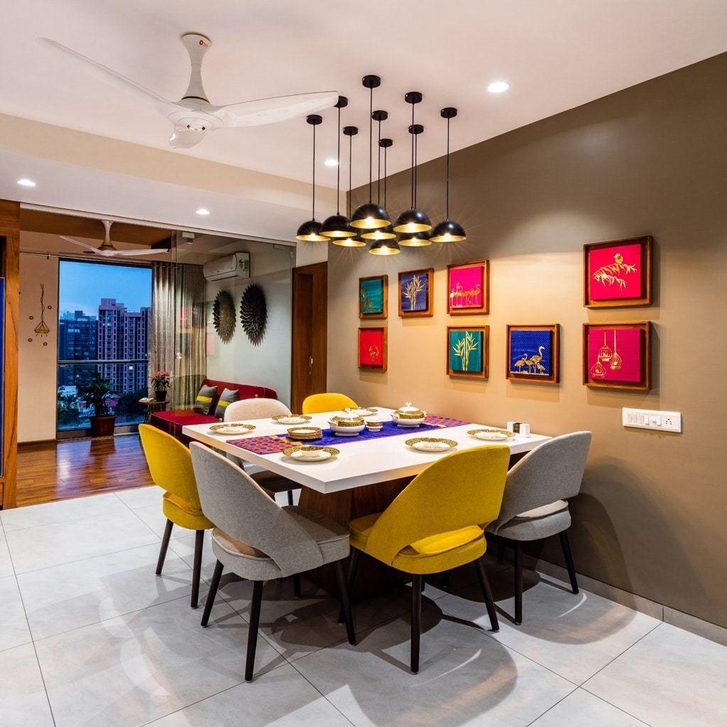 Swapneel Elysium Inclined Studio Dining Interior Small House Interior Design Home Room Design