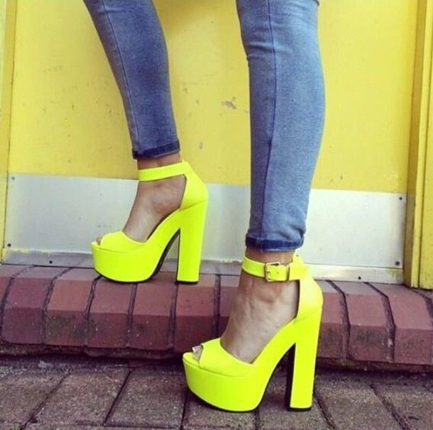53fd23526071 Shoes  yellow