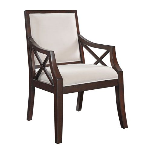 Best Coast To Coast Imports Beige Microsuede Accent Chair 21129 400 x 300