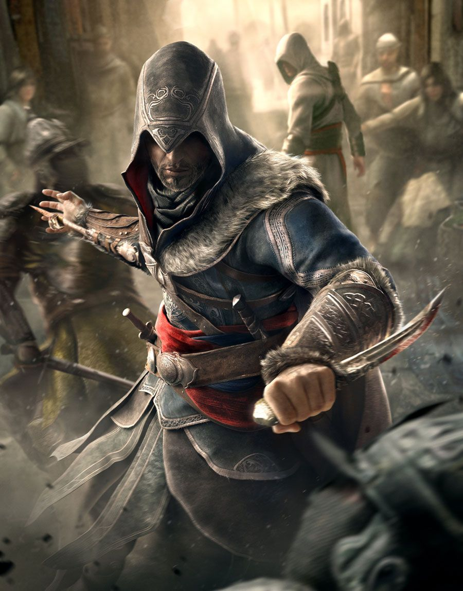 Ezio Altair Characters Art Assassin S Creed Revelations