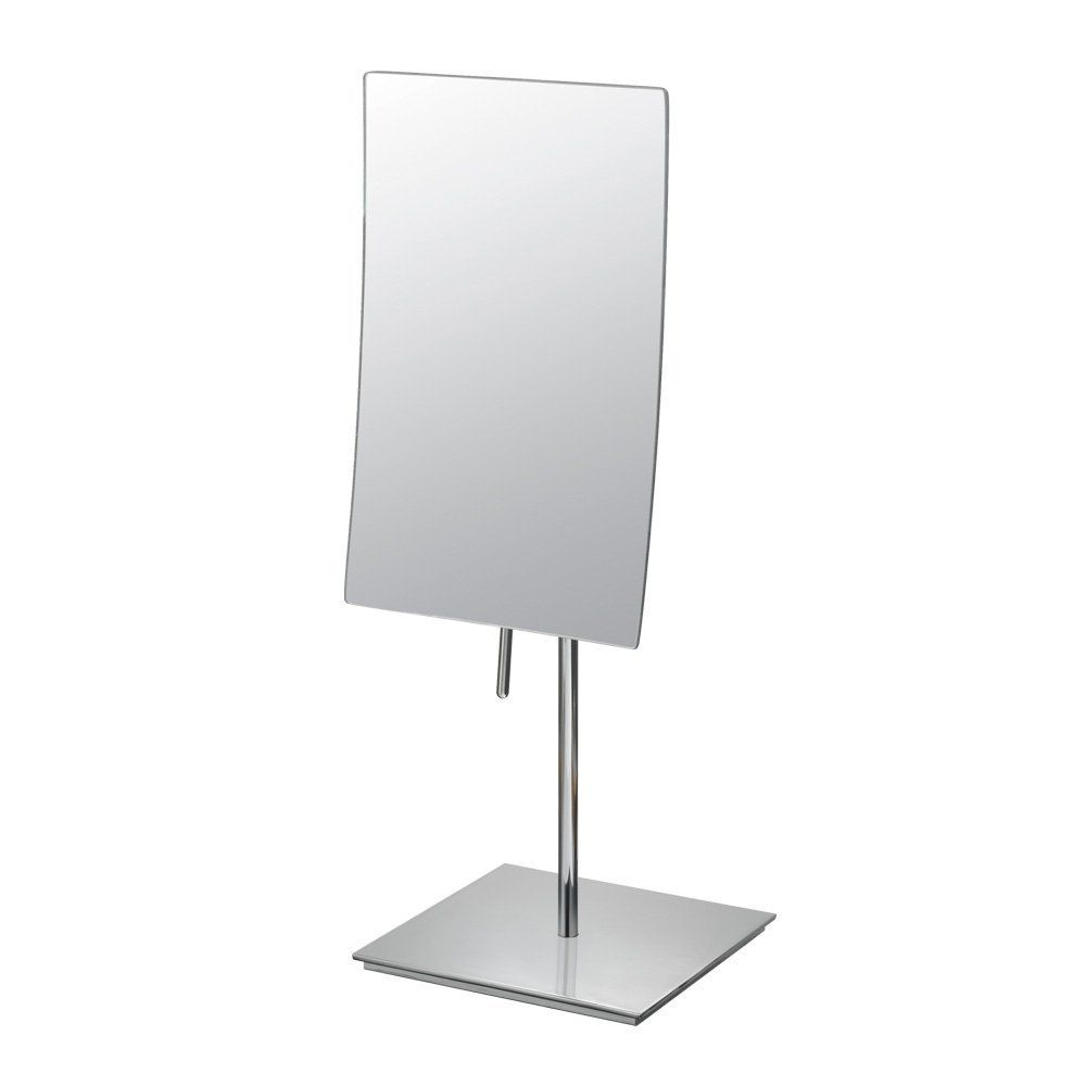 Robot Check Vanity Mirror Wall Mounted Makeup Mirror Polished Chrome