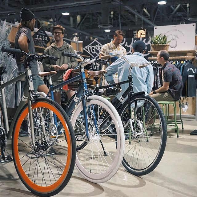 #solebicycles @agendashow last Wednesday & Thursday at the raddest booth known to man. #agendashow #seeyounextyear