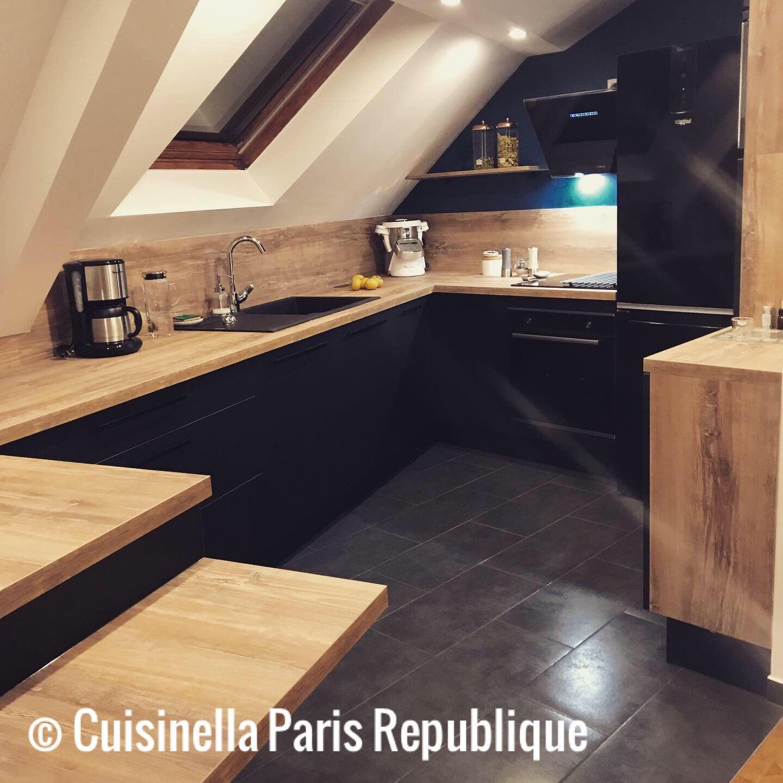 Epuree Et Elegante La Renovation De La Cuisine A Permis D