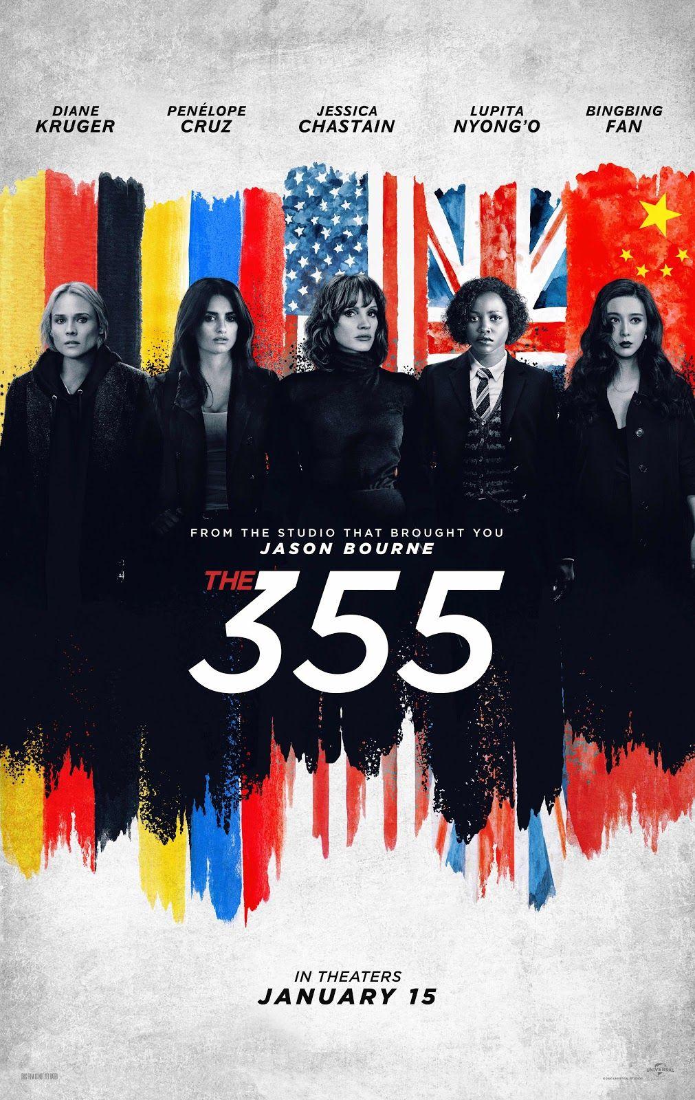 Watch The Trailer For The 355 In 2020 Penelope Cruz Jessica Chastain Sebastian Stan Avengers
