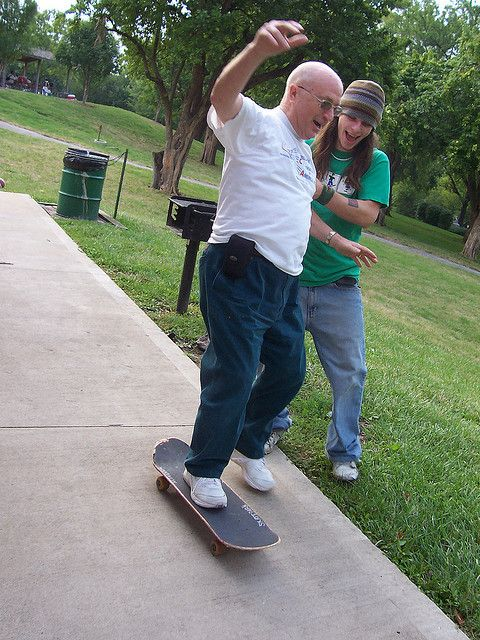 Elderly People On Skateboards Are The Coolest People On Earth People Having Fun Surf Girls Abercrombie Girls