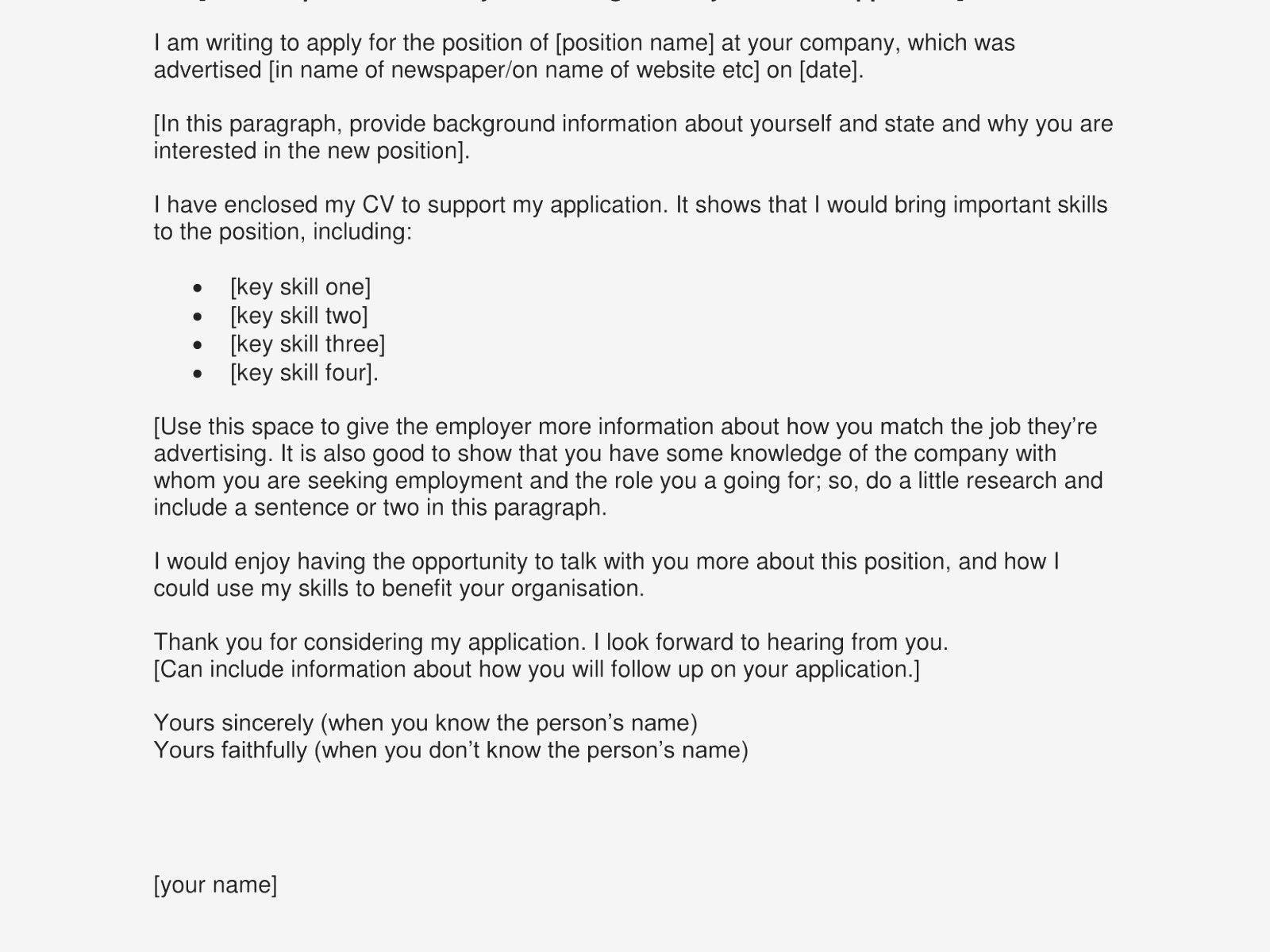 download new sample letter job application lettersample  a of cv for example word document career objective cs engineer