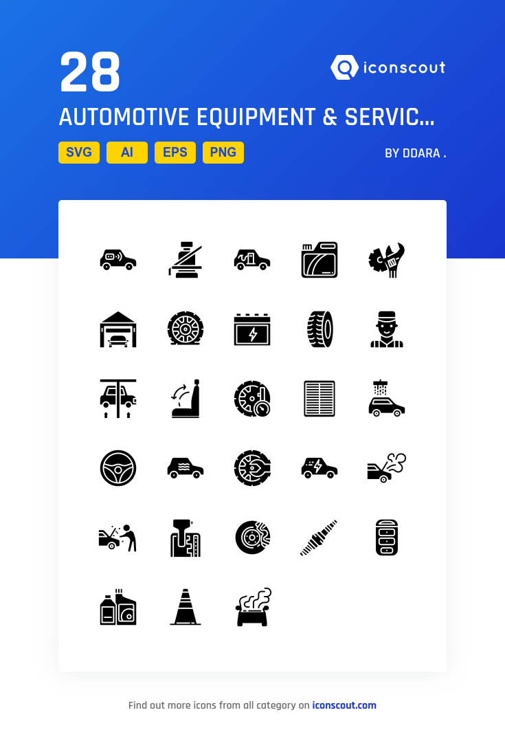 Download Automotive Equipment Service Icon Pack Available In Svg Png Eps Ai Icon Fonts Icon Pack Icon Icon Set