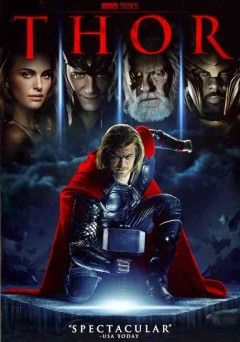 """Thor (DVD)--""""The epic adventure THOR spans the Marvel universe from present-day Earth to the cosmic realm of Asgard. At the center of the story is The Mighty Thor, a powerful but arrogant warrior whose reckless actions reignite an ancient war. As a result, Thor is banished to Earth where he is forced to live among humans. When the most dangerous villain of his world sends its darkest forces to invade Earth, Thor learns what it takes to be a true hero."""""""