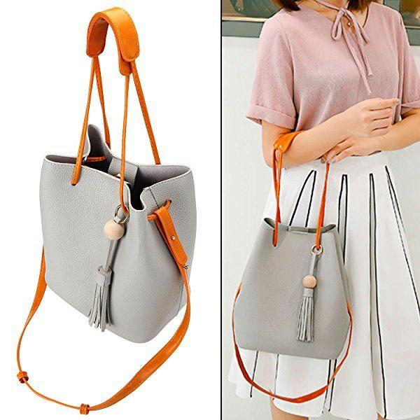 489a6bd7b89 Amazon.com  Bagerly Casual Hobo Bag Sling Crossbody Messenger Handbag  Shoulder Bag Tote Purse  Shoes