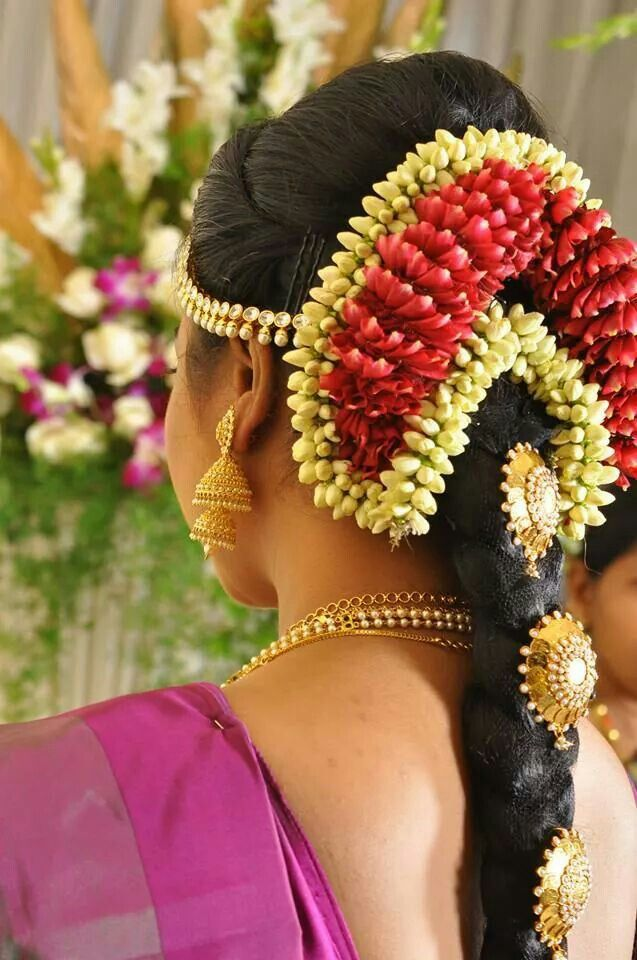 South Indian Bridal Jade Fir Muhurtham Look With Goldplated