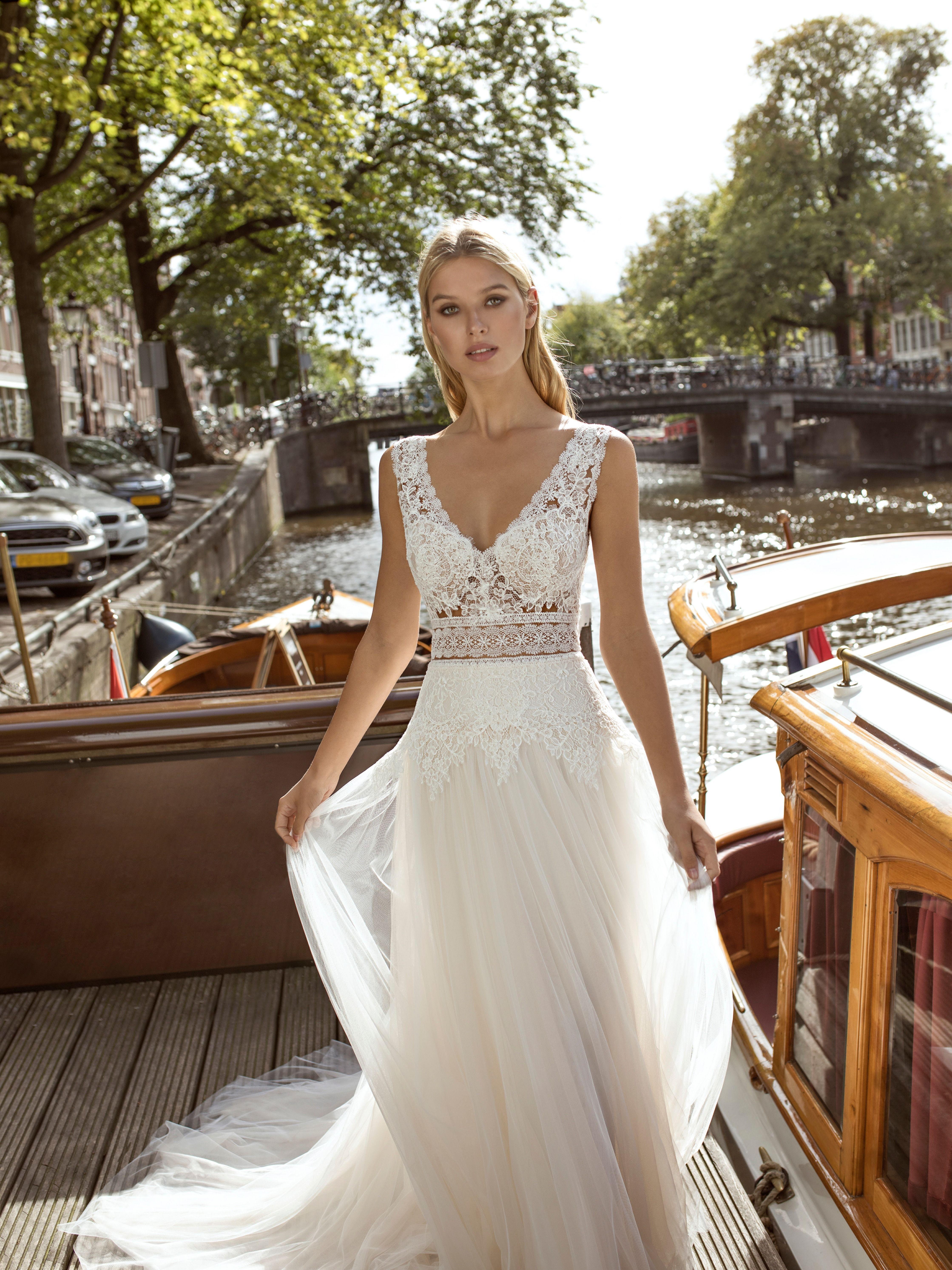Kleid Feline von Modeca  Brautmode, Braut, Hochzeitskleider vintage