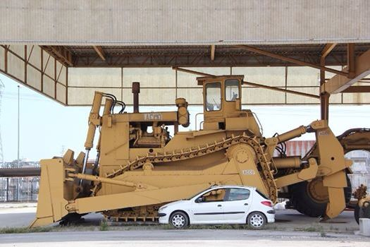 Biggest Bulldozer Made : The acco bulldozer largest ever made