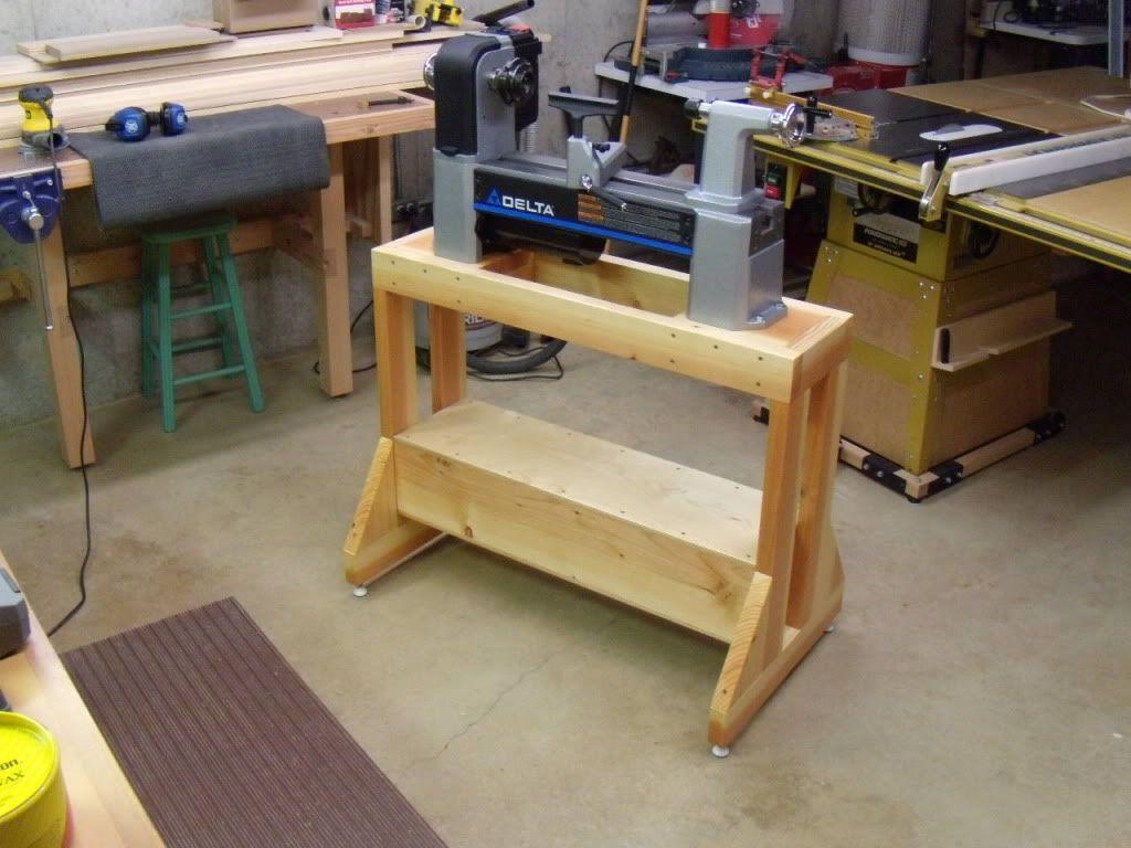 Lathe Stand Shop Ideas In 2019 Diy Lathe Wood Lathe