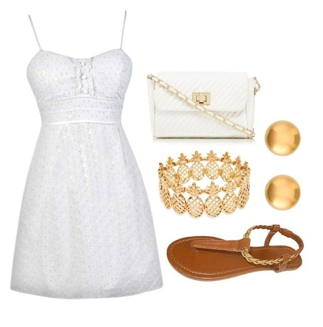 """""""Plain and Simple"""" by xxbubblesxx319 ❤ liked on Polyvore featuring INC International Concepts and Red Herring"""