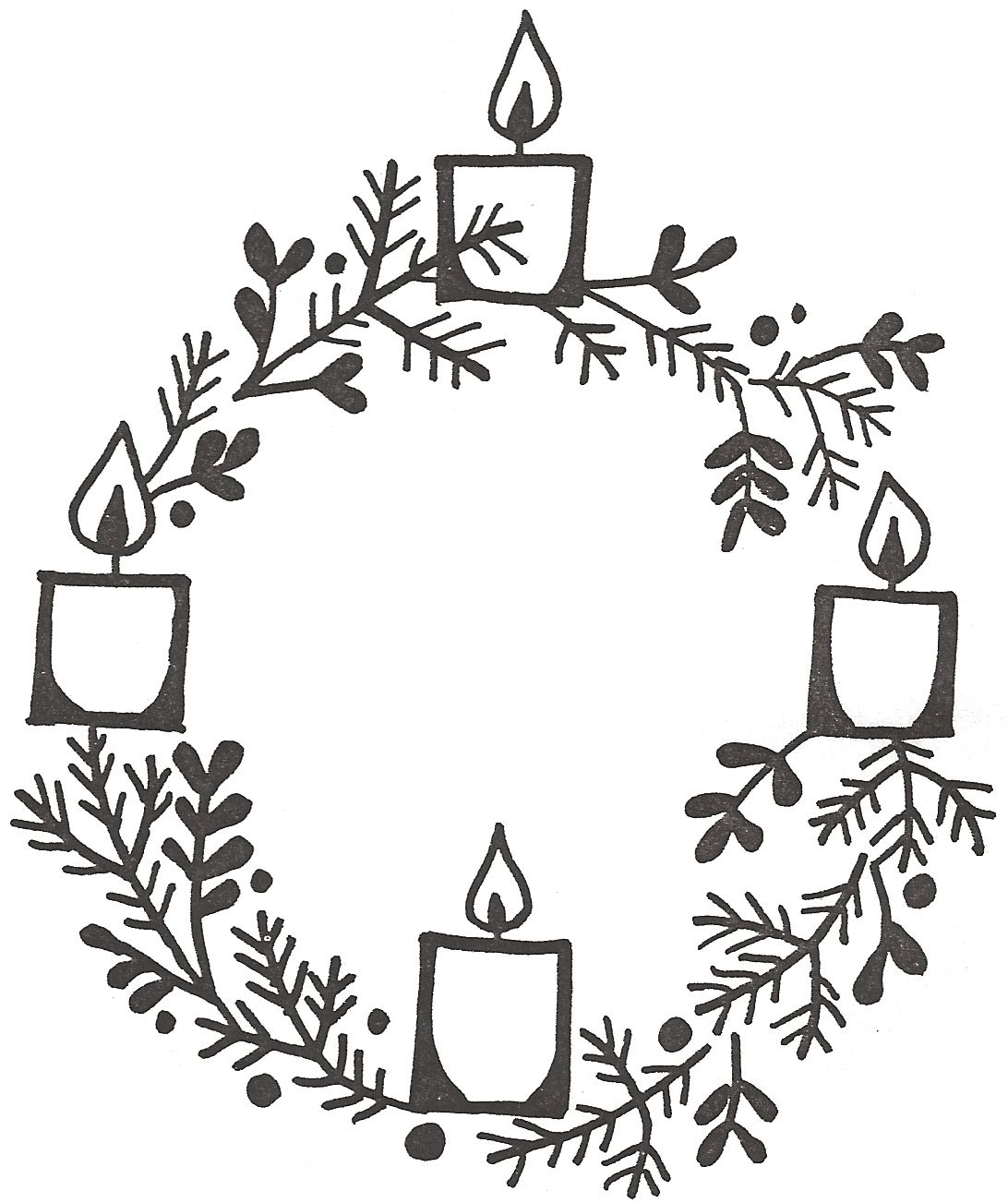 The Jesuit Institute Resources For Advent Advent Coloring Advent Candles Advent Wreath