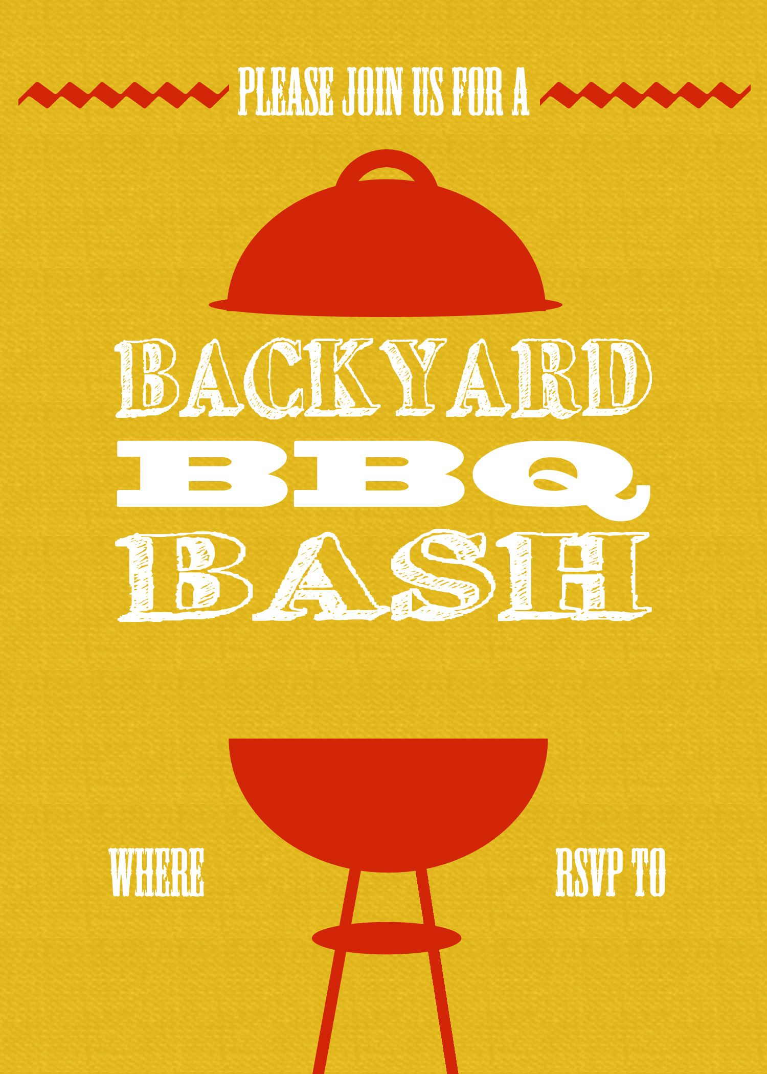 bbq invite template | Projects to Try | Pinterest | 10th birthday ...