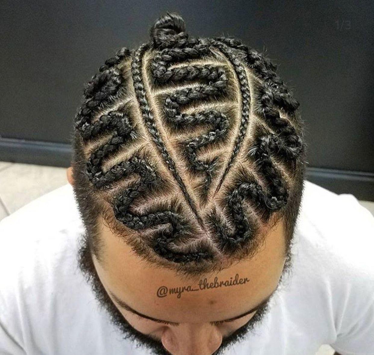 Pin by Varnell Hill on Braid hair style | Pinterest | Man braids ...