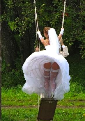 Wedding dress malfunction | Lovely & Playful | Pinterest ...