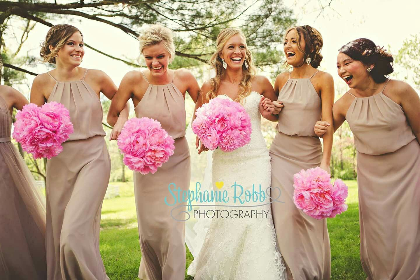 Contemporáneo Taupe Bridesmaids Dresses Viñeta - Ideas de Vestidos ...