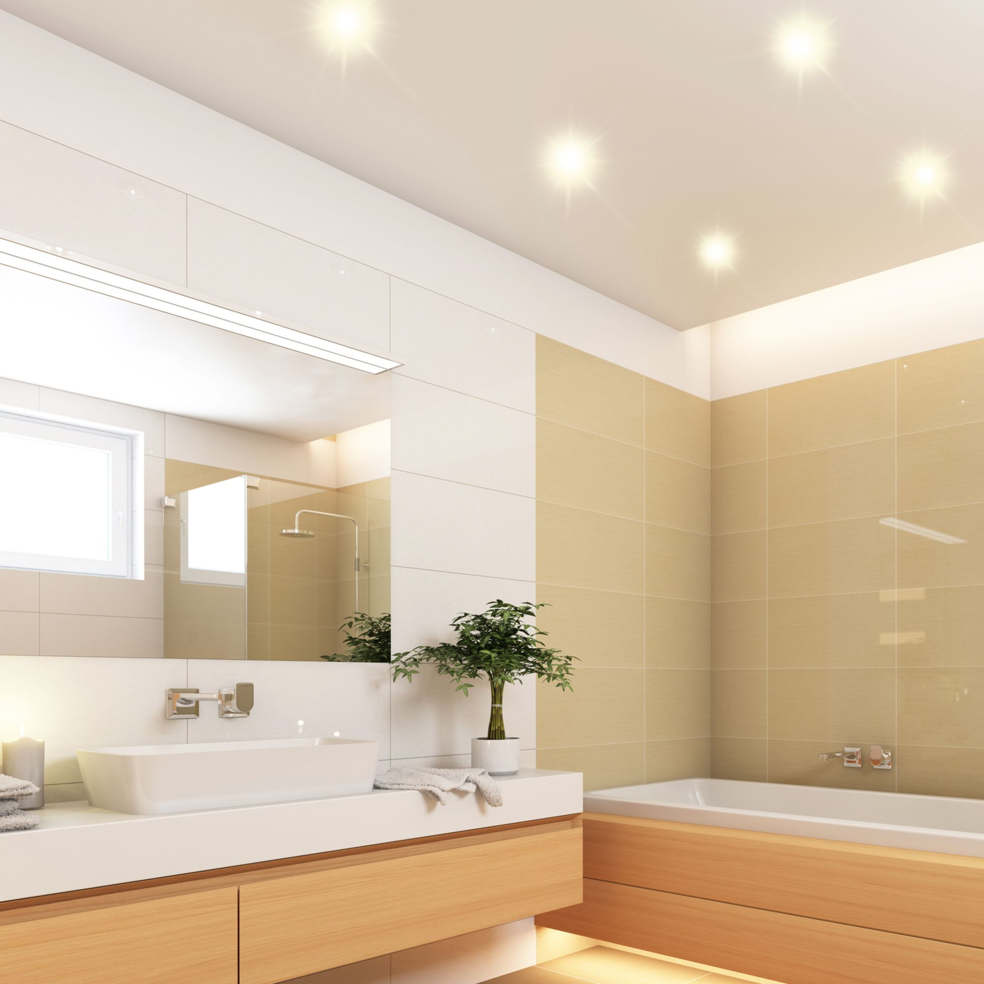 Deckenbeleuchtung Fur Das Bad Led Einbaustrahler Einbaustrahler Led Einbaustrahler Deckenbeleuchtung