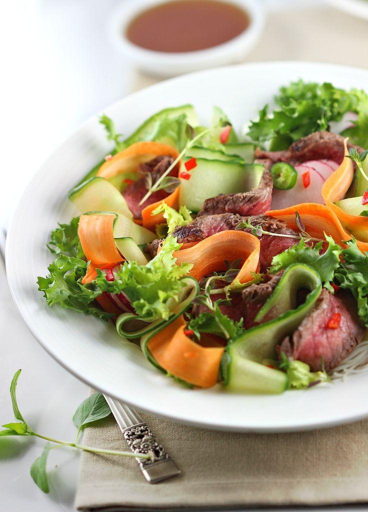 Thai Beef Salad Favorite Recipes Pinterest Cuisine Exotique