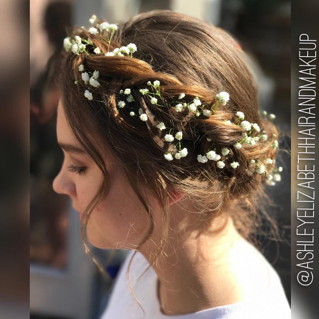Crown Braid Wedding Hairstyles: Crown Braid Wedding, Flower Crown