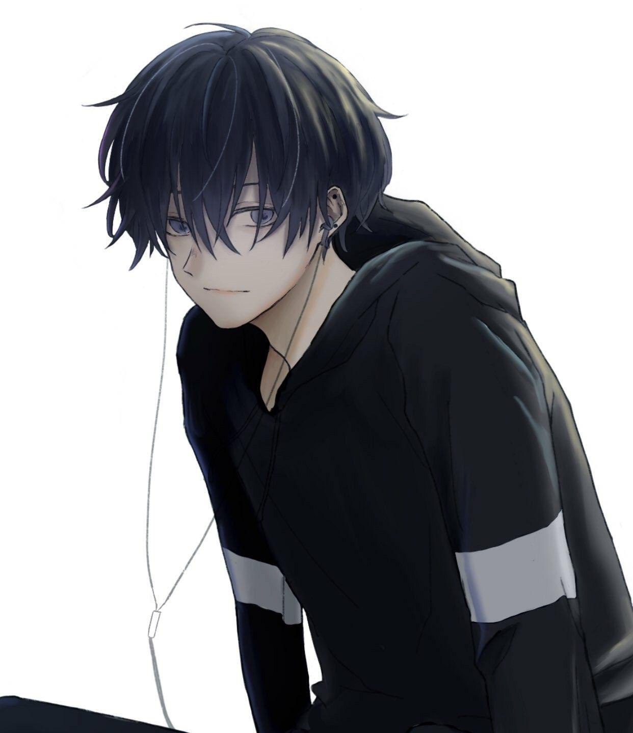 Save Follow 3 Lạ Anime Drawings Boy Cute Anime Boy Dark Anime
