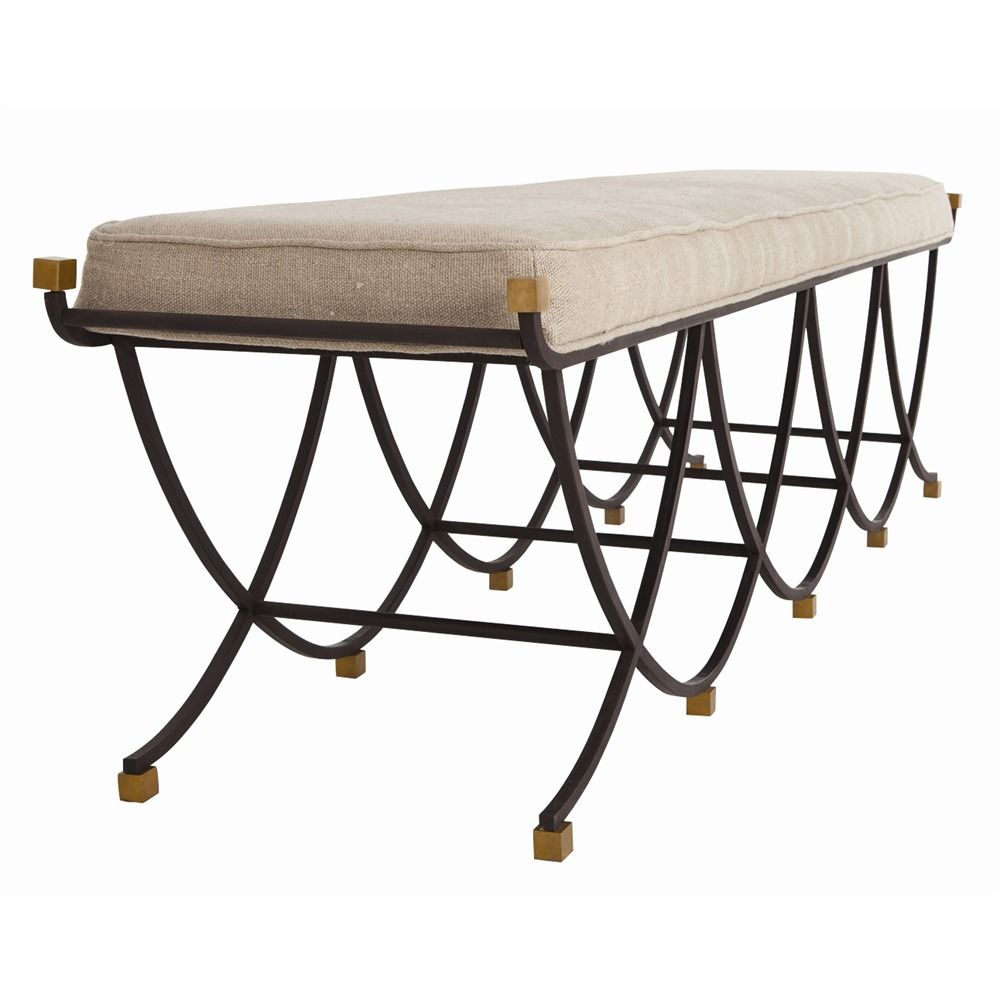 Arteriors | Felice Large Bench. Available at http://www.davidwgilbert.com/