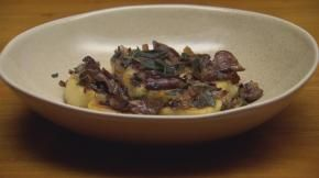 Masterchef australia on tv one and tvnz ondemand food channel from masterchef australia this one is really good rolled gnocchi stuffed with porcini find this pin and more on food channel recipes forumfinder Choice Image