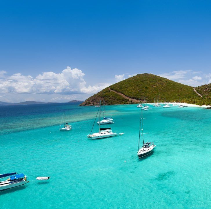 The only type of traffic were okay with.  #britishvirginislands #vacation