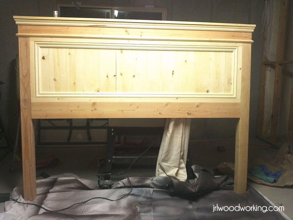 King Bed Frame Wood Plans