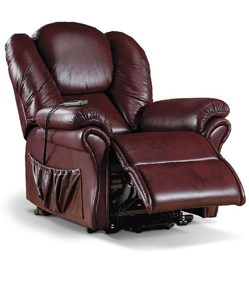 Leather Recliner For Tall Man Guys At Home Furniture