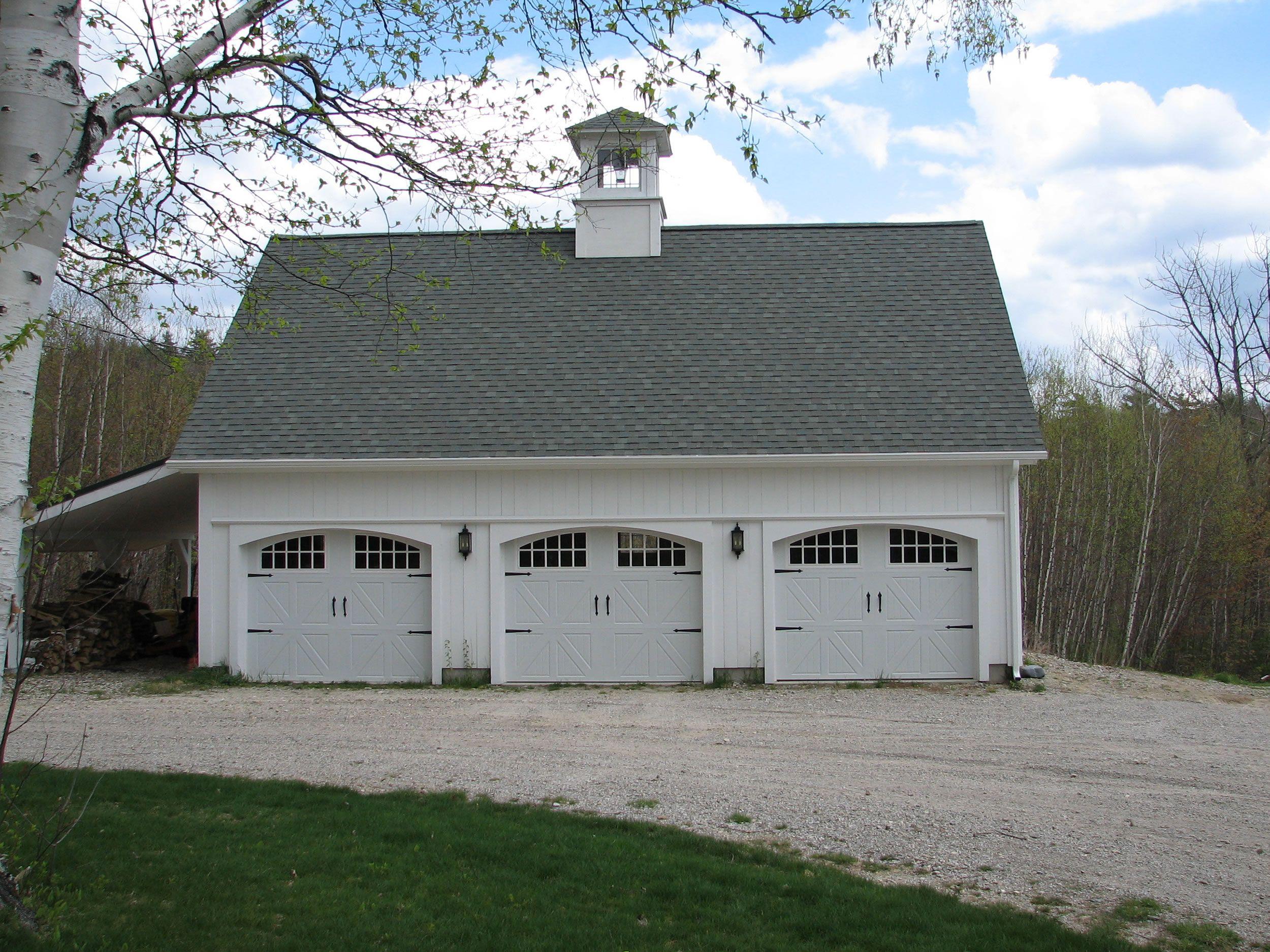 Three Car Barn | Dream Home | Carriage house garage, Pole barn ... on patio home with 3 car garage, pole barn home with front porch, pole barn home with loft, pole barn home with basement,