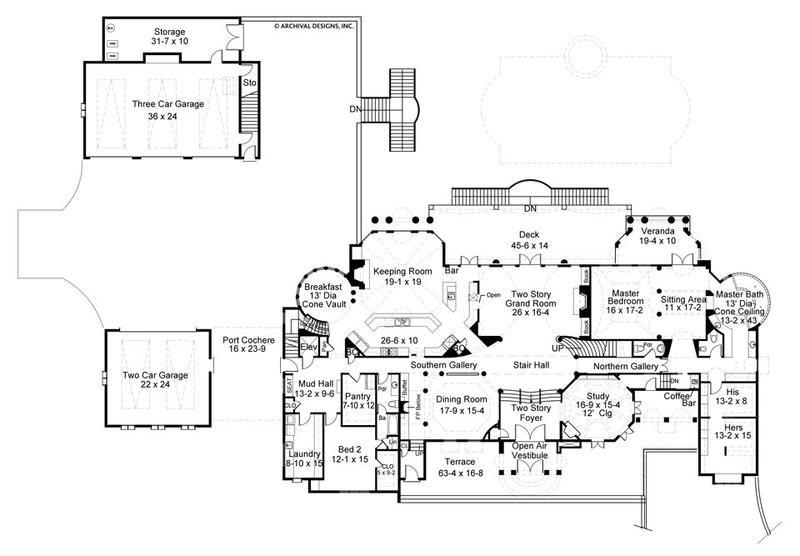 Chateau De Lanier House Plan Floor Plans House Plans Mansion Floor Plan