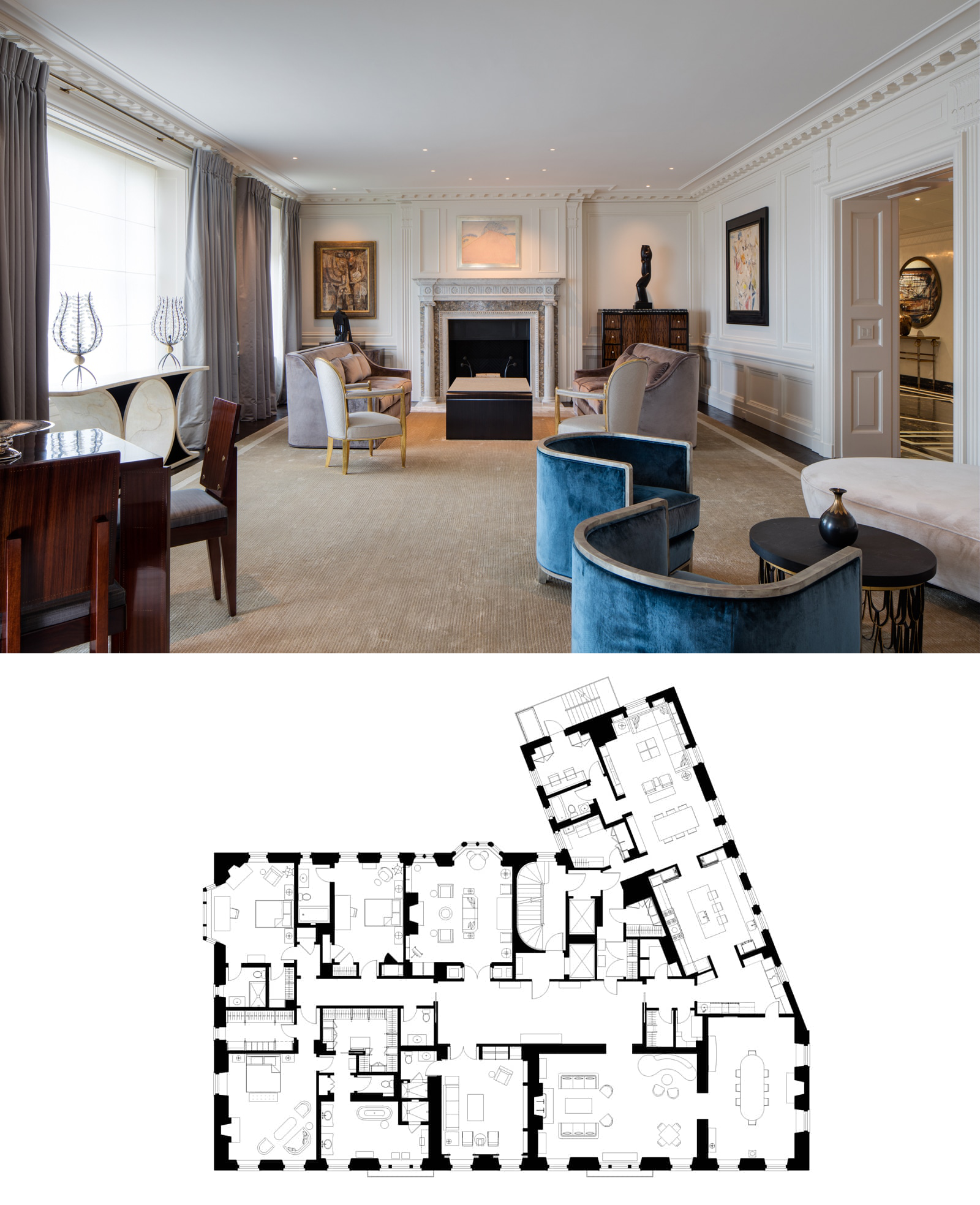 Lakeview Apartment Vinci Hamp Architects Condo Floor Plans Apartment Floor Plans House Floor Plans
