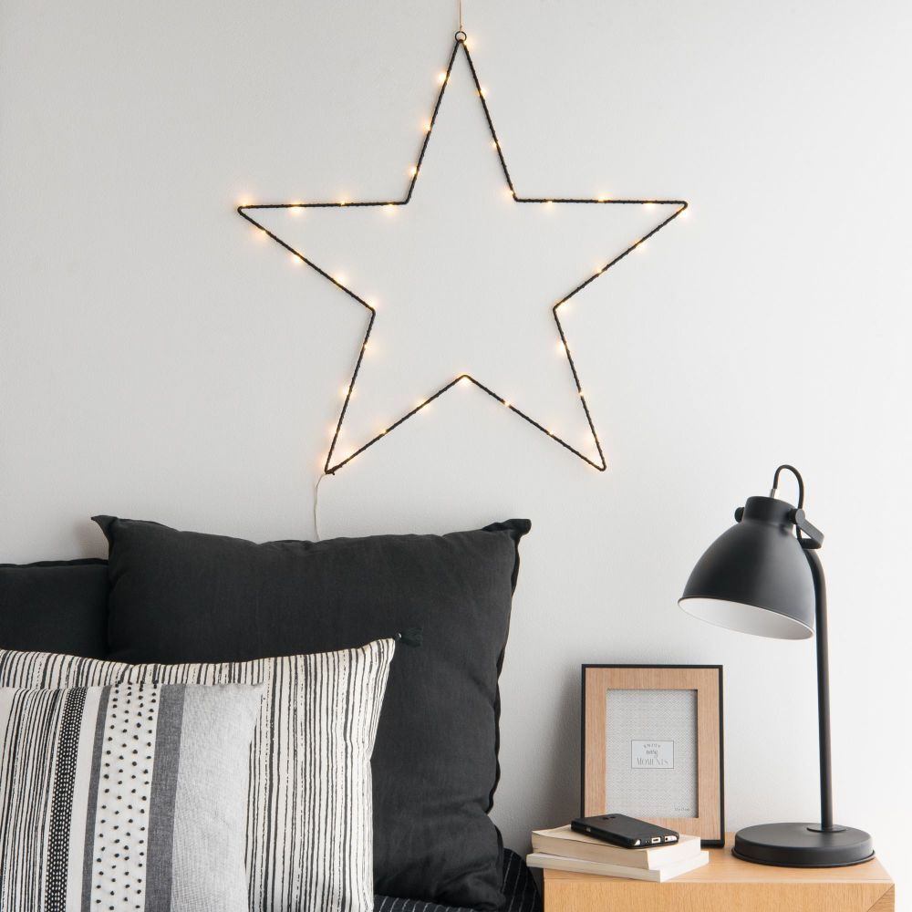 Decoration Lumineuse Murale Luminaires In 2019 Home 3 Star Wall Metal Stars Room Decor